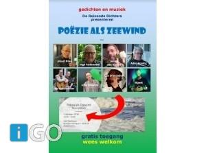 Poëzie als Zeewind bij Reizende Dichters in Middelharnis