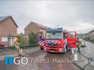 Woningbrand Oranjelaan Stad aan 't Haringvliet