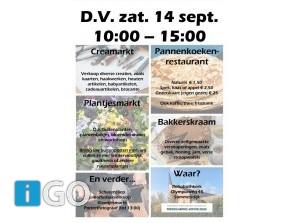 Creamarkt met kofferbakverkoop en plantjesmarkt Sommelsdijk