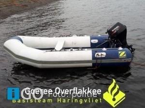 Politie treft bootje aan Springersdiep Ouddorp