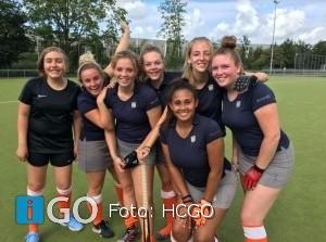 HCGO Dames 1 wint van Schiedam