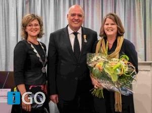 Raadslid Kees van Dam uit Middelharnis Lid in de Orde van Oranje-Nassau