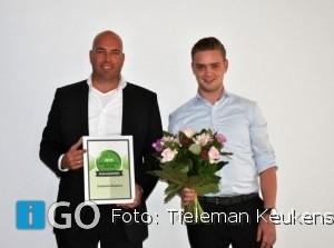 Tieleman Keukens is trotse winnaar van Beste Service Award 2019