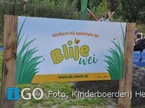Officiële opening nieuwe speeltuin Blije Wei, Hernesseroord Middelharnis