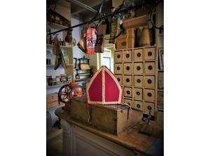 Sinterklaas slaapt in bedstede Streekmuseum