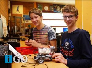 Uitdaging voor jongeren: leer een robot programmeren
