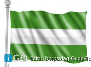 Nu ook een vlag van Oude-Tonge te koop bij Streekmuseum