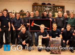 Burgemeester verrast brandweerkorps Dirksland