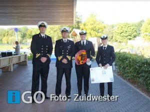 Koninklijke Marine in actie voor dagbesteding Maatwerk van Zuidwester