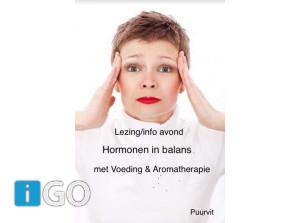 Lezing bibliotheek Hormonen in balans, door Frieda Hartman