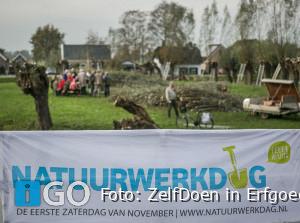 Vrijwilligers Werelderfgoed Kinderdijk openen Natuurwerkdag Z-H
