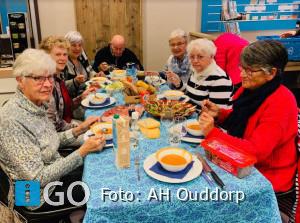 Iedere derde woensdag gratis gezonde lunch ouderen Ouddorp