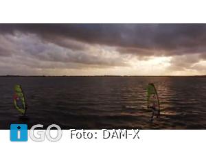 Aftermovie DAM-X  EUKampioenschap Freestyle Windsurfers Brouwersdam