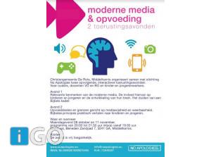 Interactieve toerustingsavonden: Moderne Opvoeding & Media