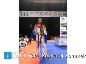 Europees kampioen Valence Bickel uit Sommelsdijk naar Kazachstan