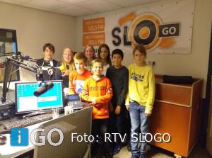 Tweede uitzending van RadioRakkers bij RTV Slogo