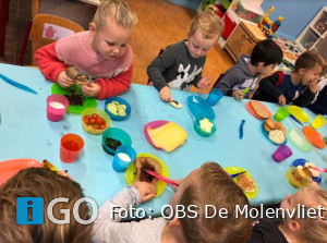 Schoolontbijt in Stad aan t Haringvliet