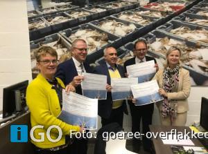 College Goeree-Overflakkee ondertekent manifest ter ondersteuning visserij