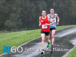 Atleten AV Flakkee beginnen sterk in Zeeuwse Crosscompetitie