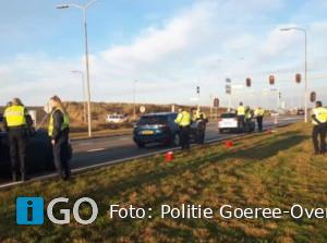 Twee aanhoudingen rijden onder invloed drugs bij verkeerscontrole