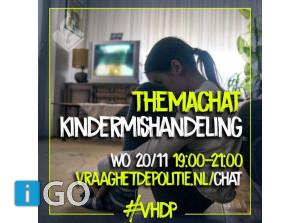 Vragen over of verdenking van kindermishandeling? Chat met politie!