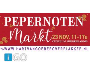Lampionoptocht en Pepernotenmarkt Centrum Middelharnis