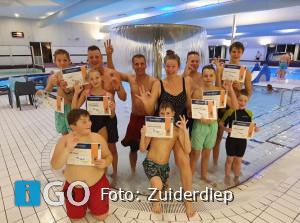 Persluchtduiken in zwembad Zuiderdiep Stellendam
