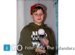 Winaars gehuldigd bij HSV The Islanders