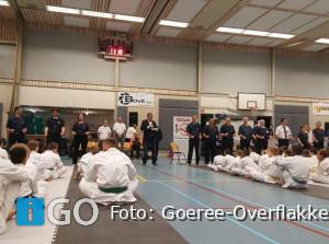 Wethouder Bruggeman opent karatetoernooi