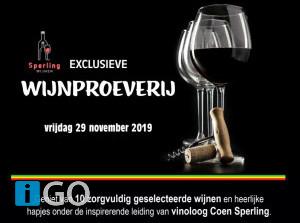 Exclusieve wijnproeverij met opbrengst Hoop voor Senegal