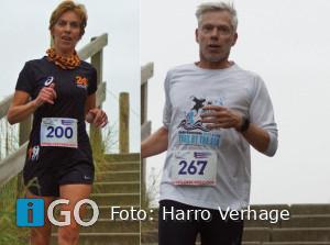 Atleten AV Flakkee bedwingen heuvels van Zoutelande en Nijmegen