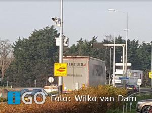 Functie camera nabij tankstation N215 Nieuwe-Tonge