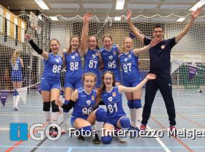 Volleybal Intermezzo Meisjes C1 kampioen