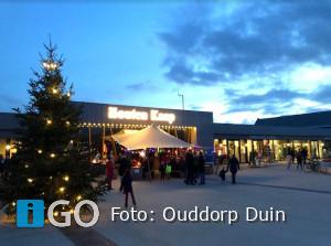 Kerstfeest op strandplein en strandtheater Ouddorp Duin