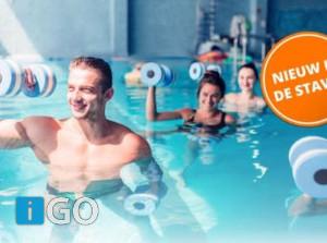 Nieuw in zwembad de Staver: Aqua Bootcamp