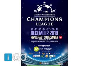 Champions League december 2019 in De Staver Sommelsdijk