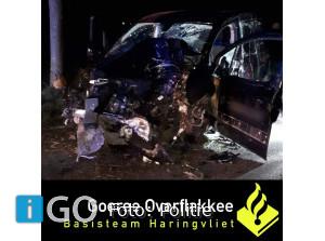 22- jarige bestuurder zwaar gewond na dronken achter stuur Middelharnis