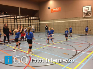 Volleybal: dames selectie VC Intermezzo