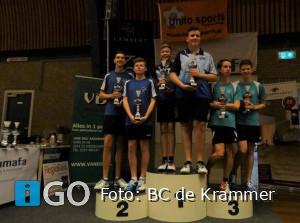 Geslaagd badmintontoernooi BC de Krammer Oude-Tonge