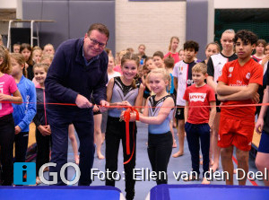 Officiële opening eerste Springdag Springdagen bij Staver Sommelsdijk