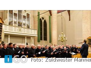 Zuidwester Mannenkoor Nieuwjaarsconcert in Oude-Tonge