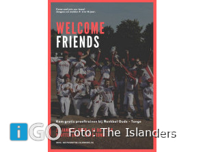 Zaterdag: Welcome Friends Day The Islanders