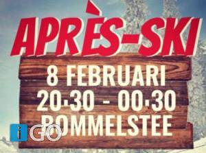 Après ski avond in Bommelstee
