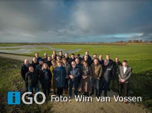 Delegatie Flevoland bezoekt Goeree-Overflakkee