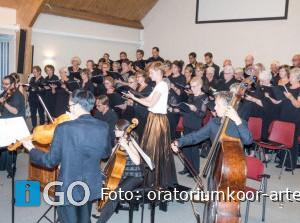 Concert Oratoriumkoor Arte Vocale uit Middelharnis