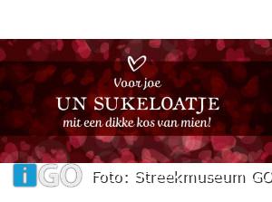 'Flakkeese uutdruksels' op Valentijnskaarten Goeree-Overflakkee