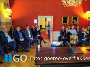 Gemeenteraad Goeree-Overflakkee op stage bij raad Breda