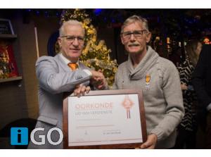 Daan van den Broek benoemd tot KNVB Lid van Verdienste