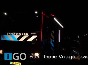 Schoorsteenbrand Voorstraat Sommelsdijk