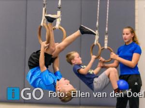 Vriendjesles voor jongens bij turnvereniging Sommelsdijk